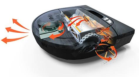 Robot aspirateur Botvac D7 adapté aux poils d'animaux de compagnie