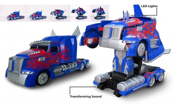 optimus prime transformers camion robot nikko