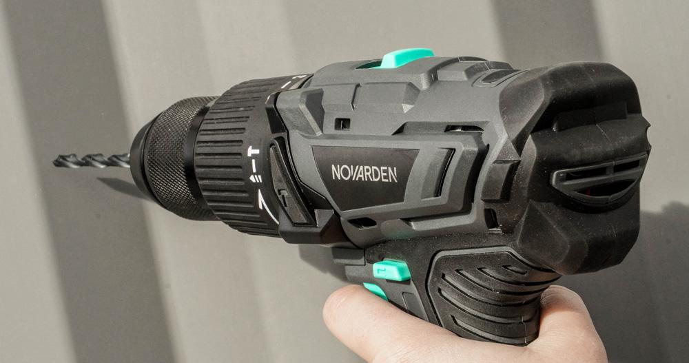 NOVARDEN gamme à batterie NOMAD visseuse NSD50b