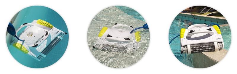 maytronics novarden nsr50 dolphin robot piscine mousse