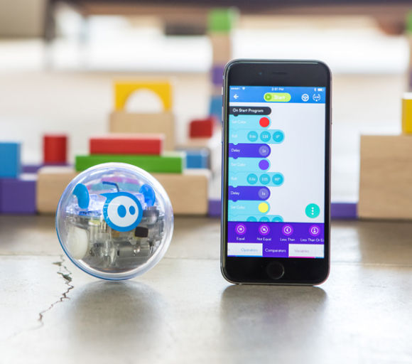 application lightning lab sphero