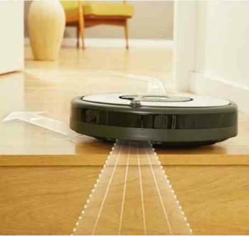 aspirateur robot irobot roomba 605 bestofrobots. Black Bedroom Furniture Sets. Home Design Ideas