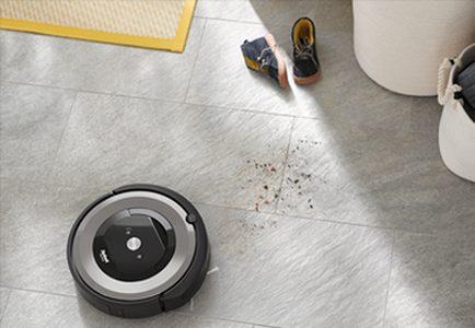 Aspirateur Roomba E5 dirt detect