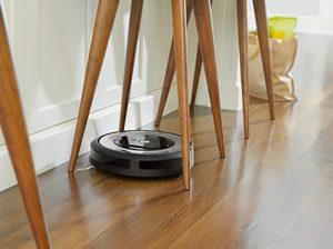Robot aspirateur iRobot Roomba E5 détection des meubles