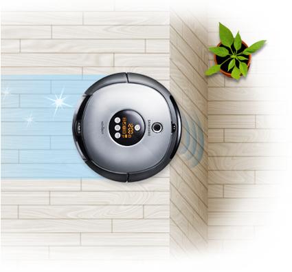 Aspirateur robot Samsung NAVIBOT SR8875 Silencio BestofRobots