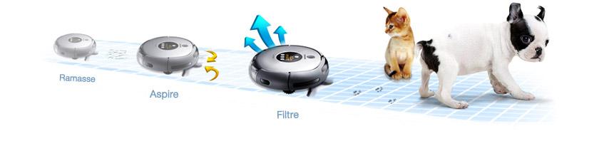 Aspirateur robot Samsung NABIVOT