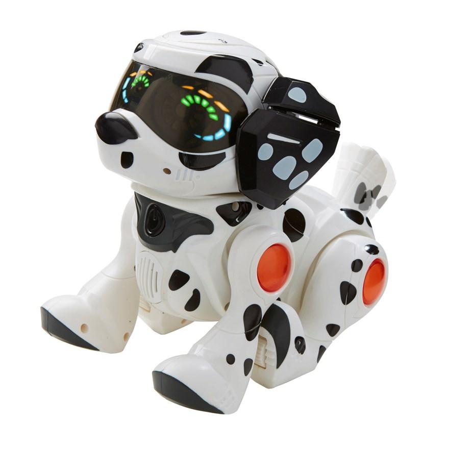 Robot chien teksta puppy dalmatien