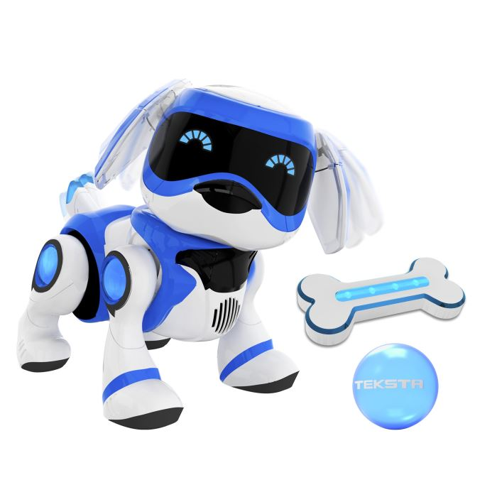 Robot chien splash toys teksta puppy bleu bestofrobots - Robot qui chauffe et mixe ...