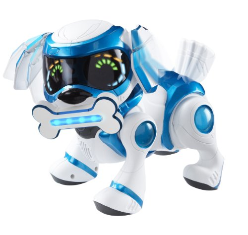 teksta robot puppy bleu