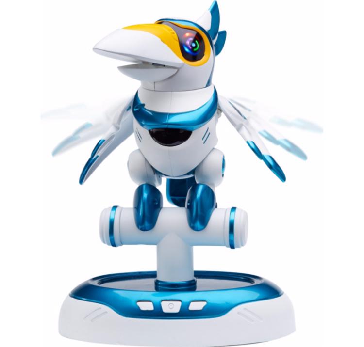 toucan teksta robot jouet intéractif