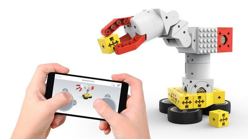 tinkerbots robot a construire et à programmer