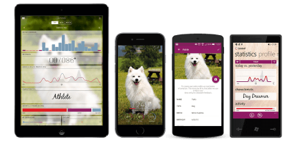 application motion tractive animaux