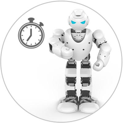 ALPHA 1S - robot humanoide
