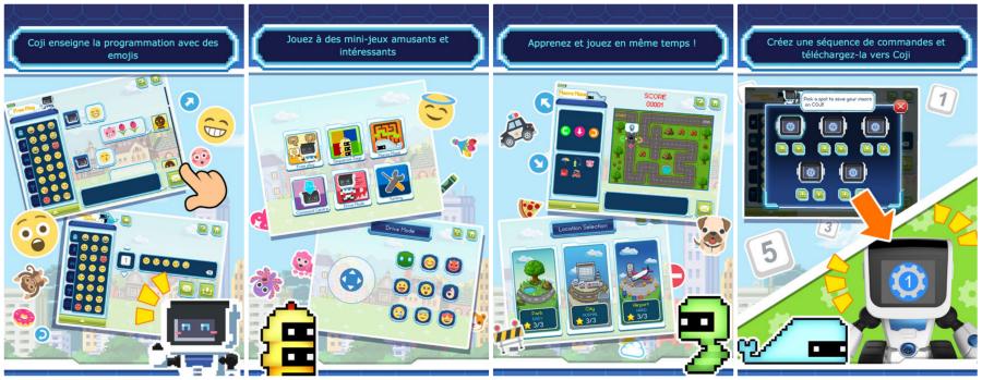 application et jeux coji - wowwee