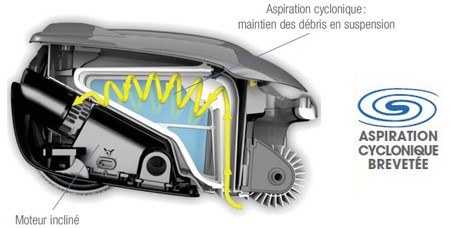 vortex ov3400 - aspiration cyclonique