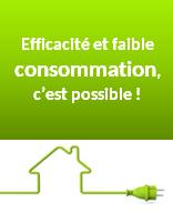 Efficacité et consommation